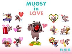 Mugsy in Love