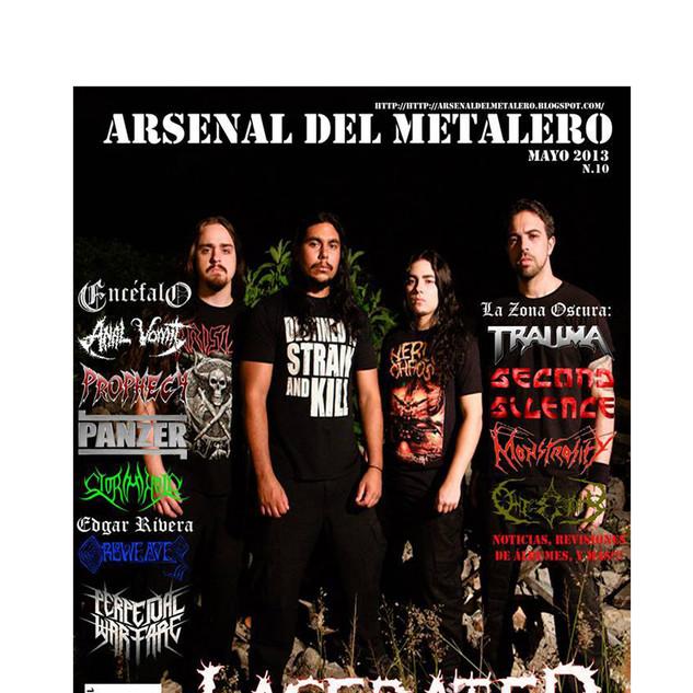 Arsenal Del Metalero- Interview- Peru-2013