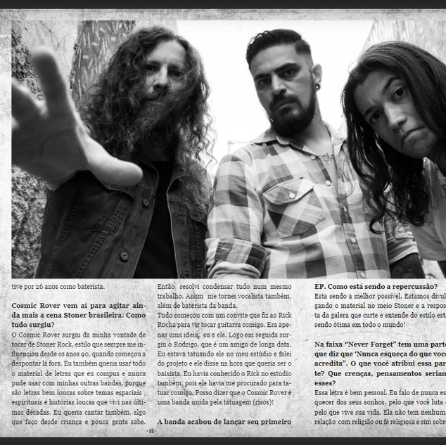 Cosmic Rover- Interview Rock Meeting Mag