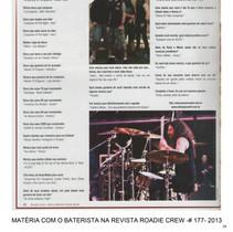 Roadie Crew Mag. - Profile Session- 2013