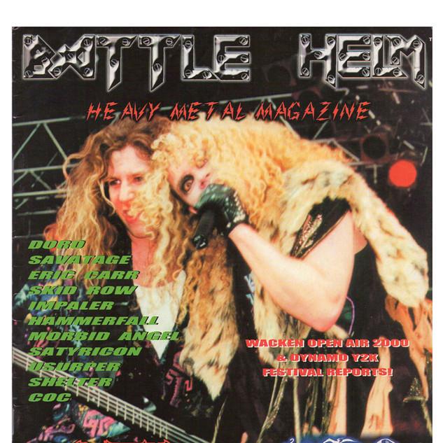 Battle Helm Mag. Interview- USA- 1999