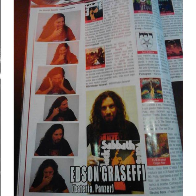 Roadie Crew Mag. -Blind Ear session - Brasil- 2014