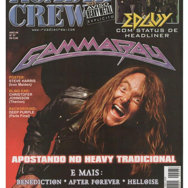 Roadie Crew Magazine- Interview- Brasil -2001