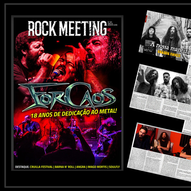 Rock Meeting Mag.- Interview- 2018