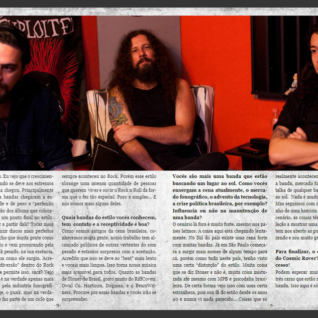 Cosmic Rover - Interview Rock Meeting Mag
