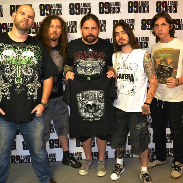 Pegadas do Andreas Radio Show- 89 Fm Interview with Andreas Kisser- Sepultura- 2011