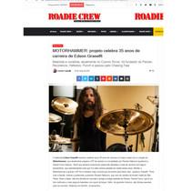 Roadie Crew Magazine- News About Motorhammer- March/2021