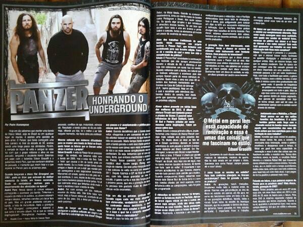 Rock Brigade Magazine- Interview- Brasil- 2012