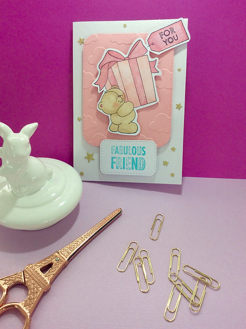 Forever Friends Birthday Card
