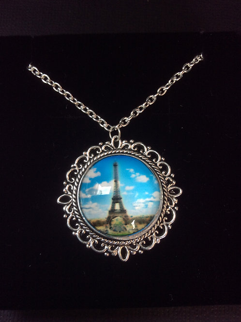 Vintage Eiffel Necklace - Assorted