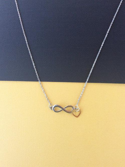 Infinite Heart Necklace