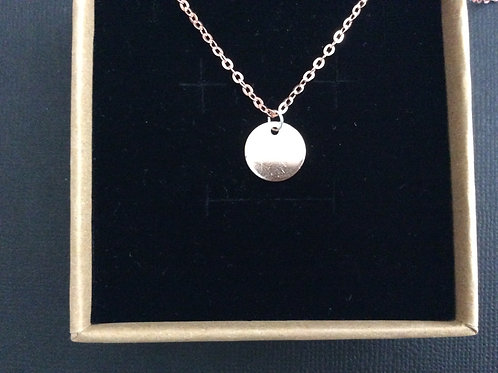 Personalise It - Initial Engraving Necklace