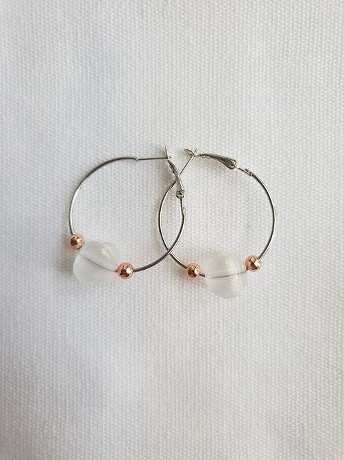 Serenity Hoop Earrings