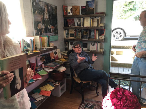 Whitney Chandler at Rabbit House Press