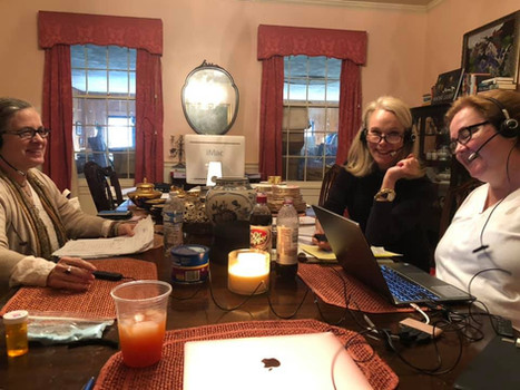 Nancy Royden, Denise Lutz and Vickie Elk