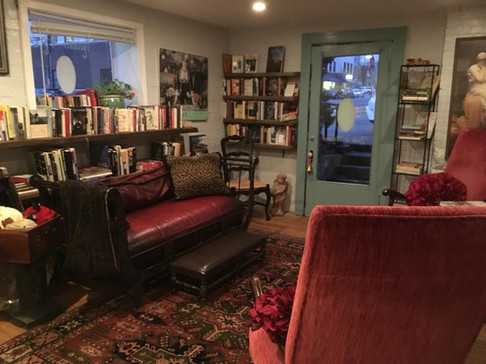 Front Room of Rabbit House Books & Notions