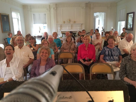 Weymouth Center for the Arts reading of