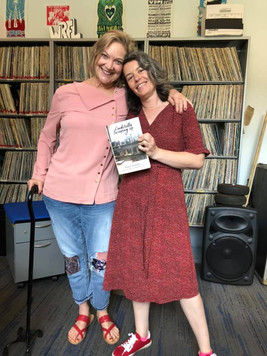 Erin Chandler with Poet and Radio Host K