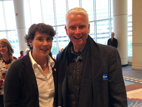 Kevin Dearinger and Amy McGrath.