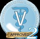 Veterinary Hyperbaric Medicine Society Seal - VHMS