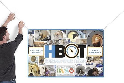 HBOT Collage Vinyl Banner