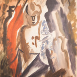 El Hombre del paraguas (L'Homme au Parapluvie)