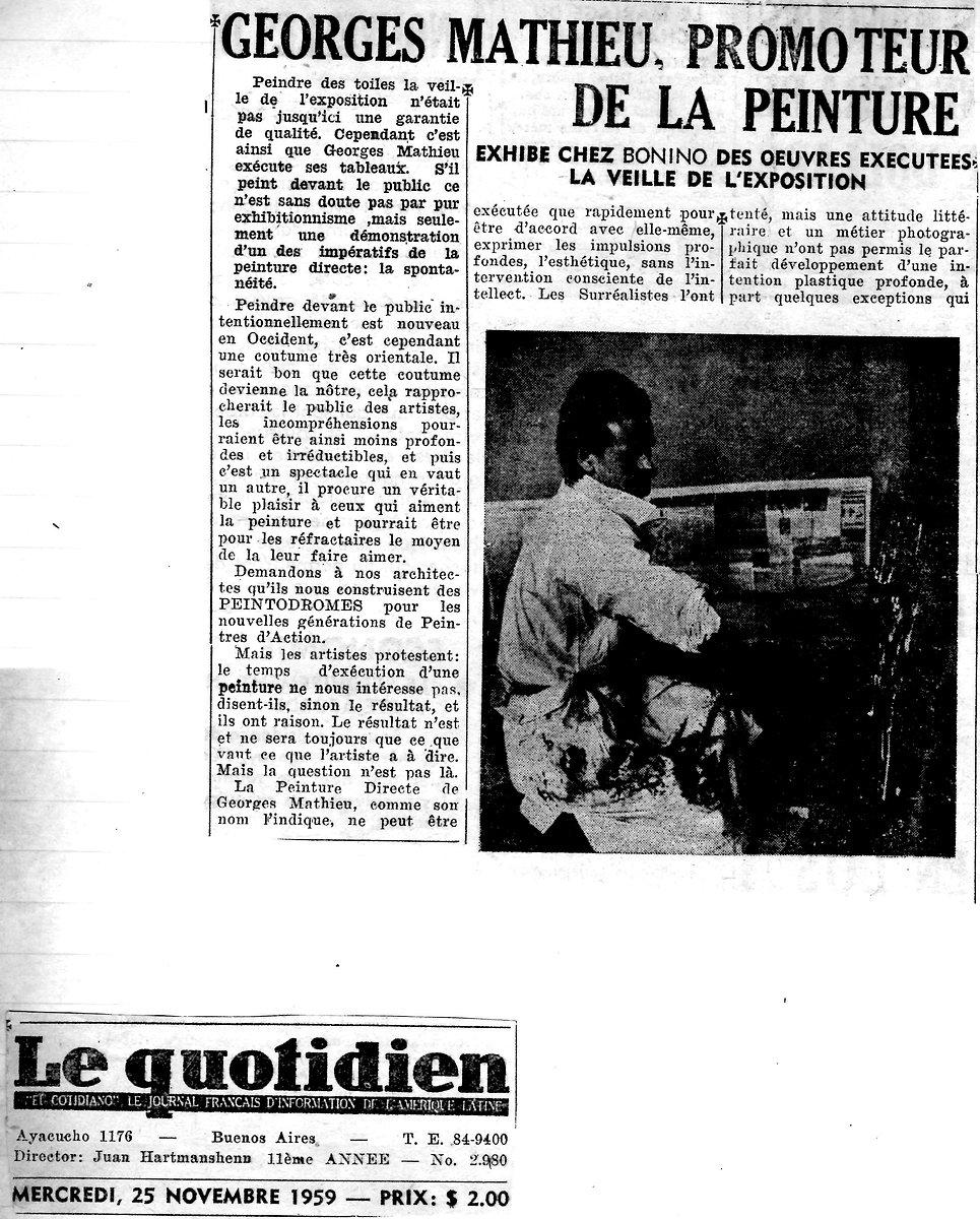 Le Quotidien - G.M. promoteur de la pein