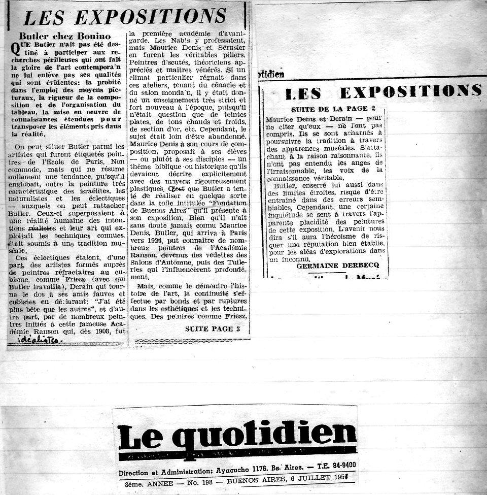 Le Quotidien (Les expositions, Butler).j