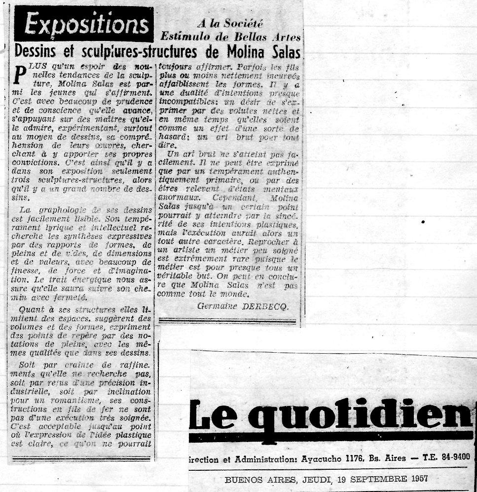 Le Quotidien2 - Dessins et sculptures st