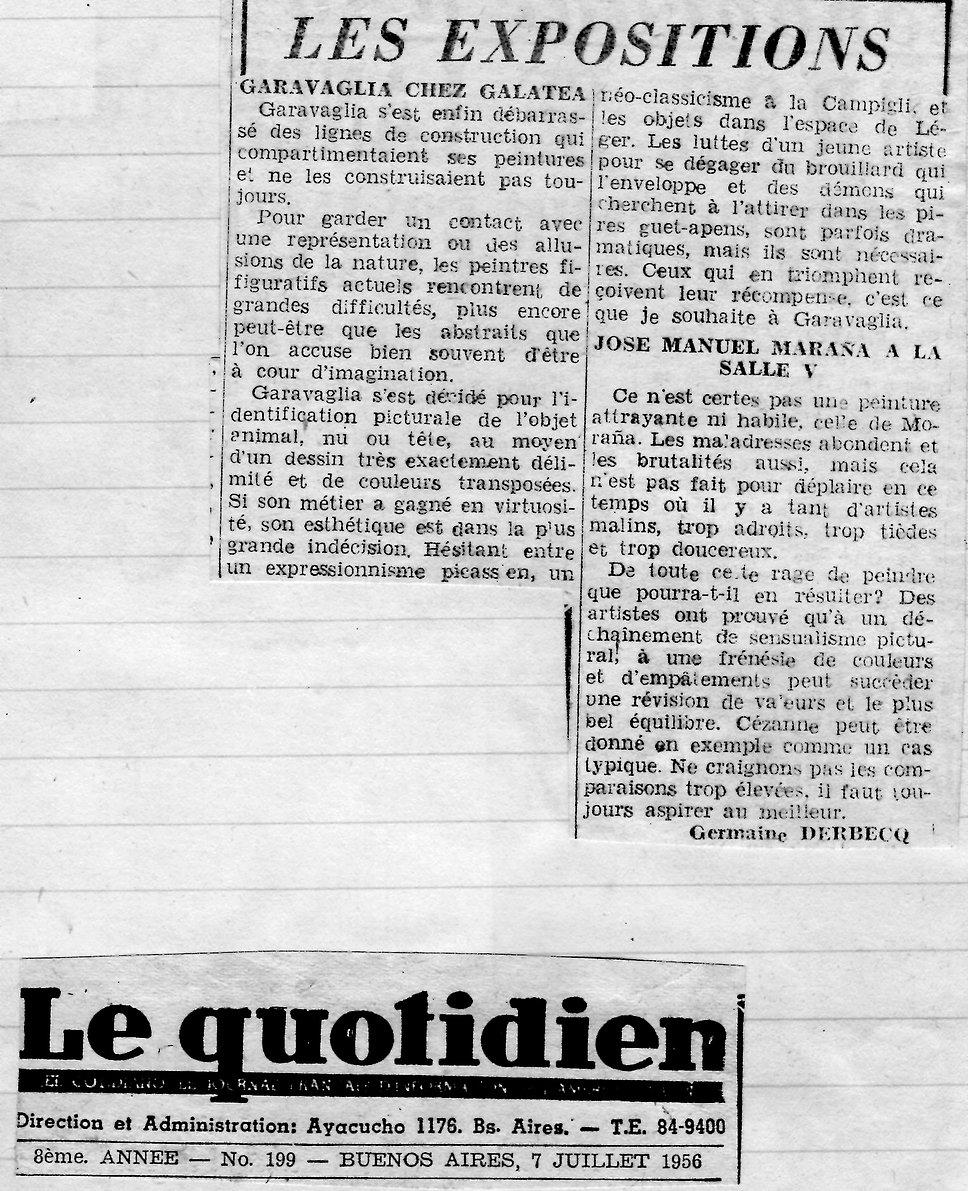 Le Quotidien2 (les expositions, Garavagl