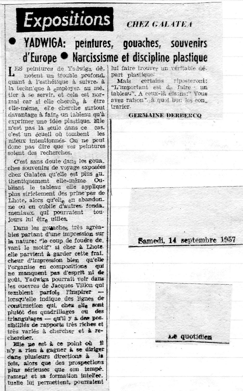 Le Quotidien2 - Chez Galatea - Yadwiga.j
