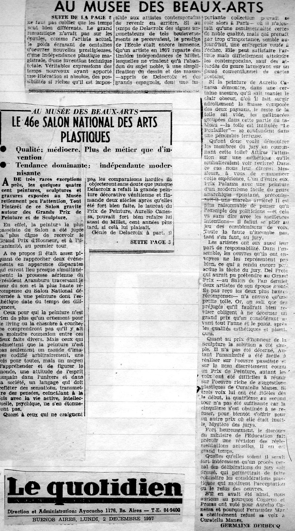 Le Quotidien2 -Salon national des arts p