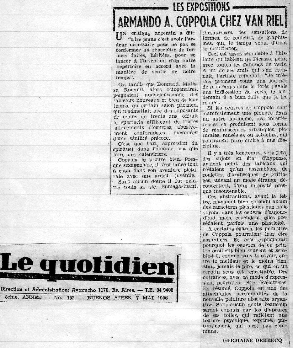 Le Quotidien2 (Armando Coppola chez Van