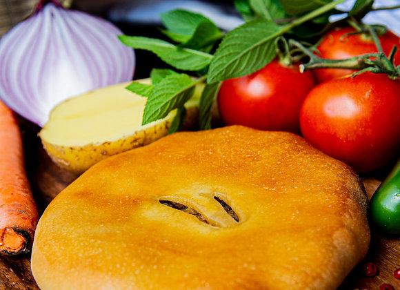 Eggplant panini pie