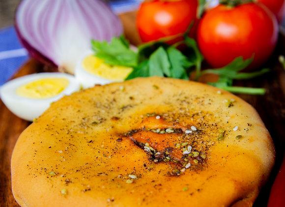 Shakshuka panini pies