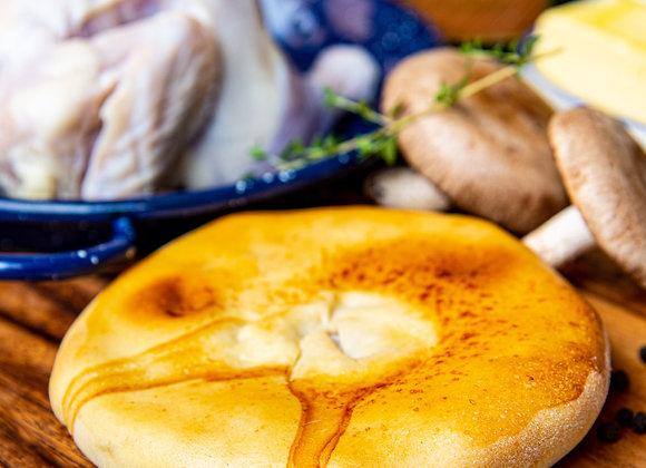 Chicken Marsala panini pies