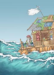 14. Sagan om den stora översvämningen (B
