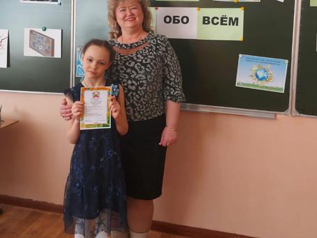 27 марта в школе МБОУ СОШ №8 прошел VIII Фестиваль детских проектных работ «Здравствуй, мир!».