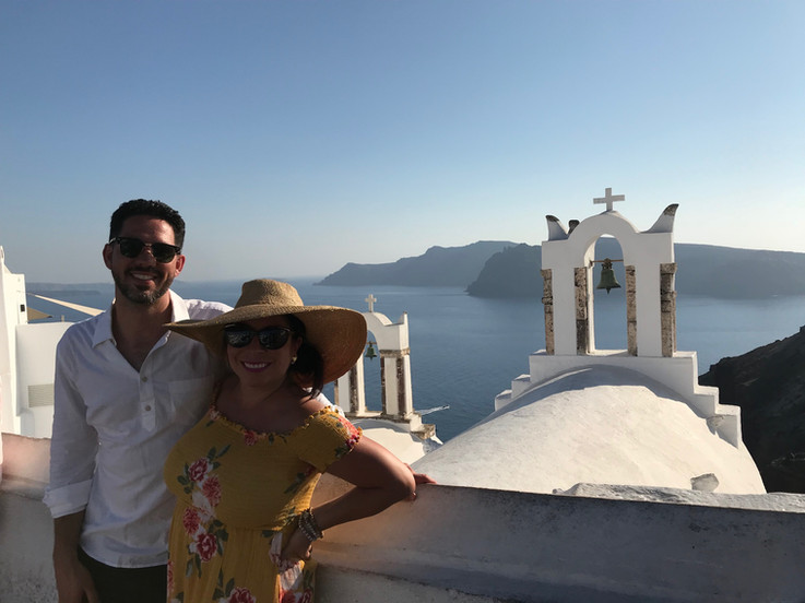 Trip to Santorini, Greece