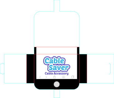 Cable Saver_Packaging Dieline Design-1.p