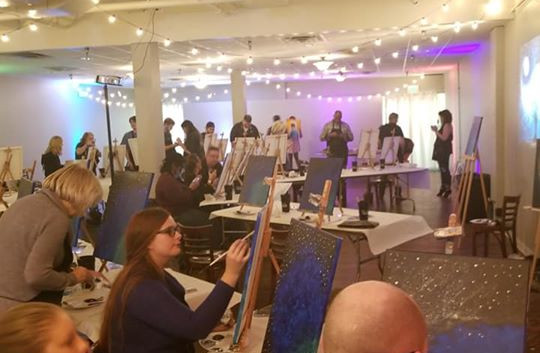Painting With A Twist At Rat Pak