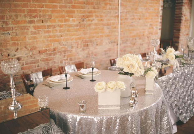 Silver Head Table