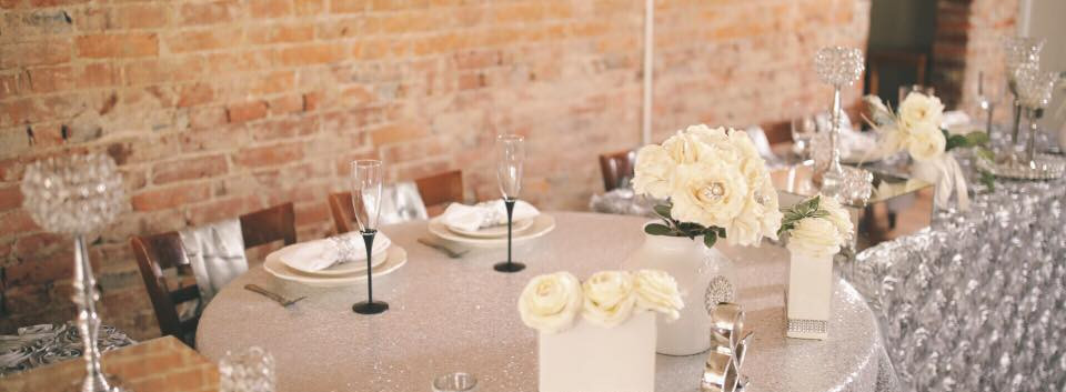 Silver Head Table