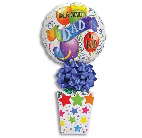 Father's Day Candy Cup (Stars)