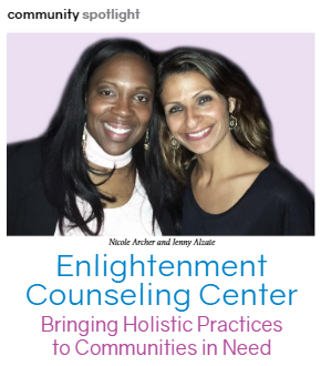 Enlightenment Counseling Center Featured in Natural Awakenings January 2019 Edition