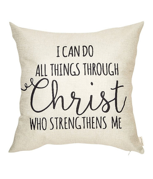 I Can Do All Things Pillow