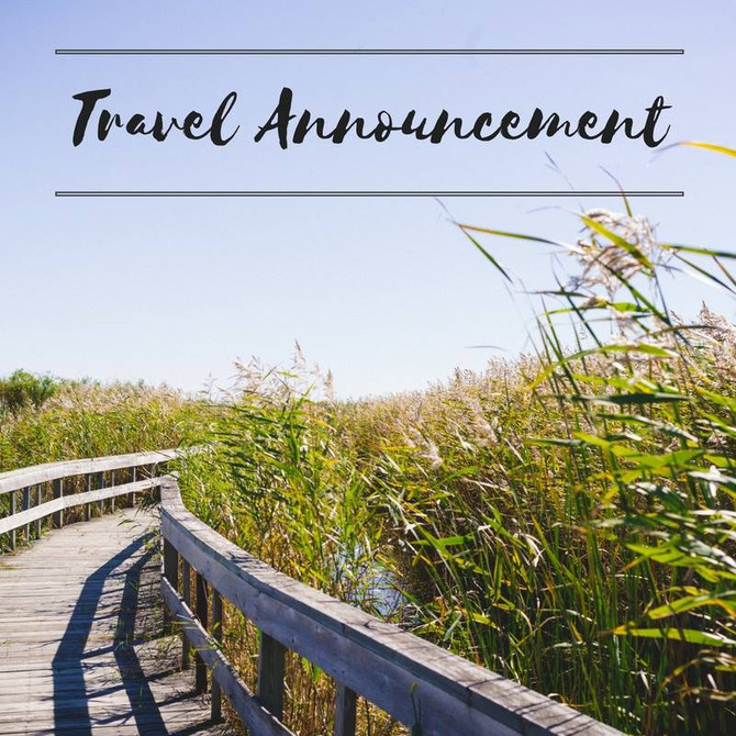 Travel Announcement