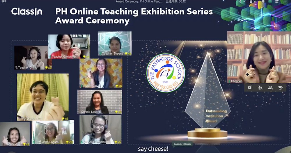 PH Online Teaching Exhibition Series Award Ceremony