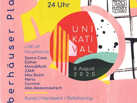 Das Line Up für das erste Unikat-Festival steht