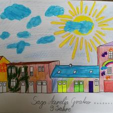 Saga Aurelia Gratzer, 9 Jahre